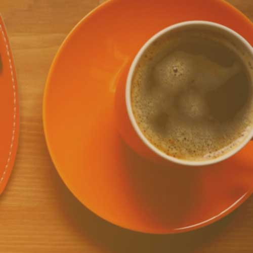 choose a value for money removalist like us and enjoy this cup of coffee in orange cup